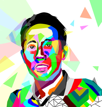 WPAP - All colour become one by Awama