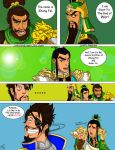 Dynasty Warriors 8 (Comic)- Meeting the Brothers by LittleConqueror