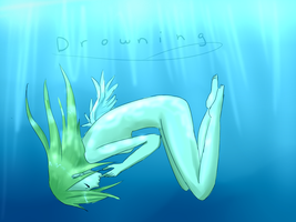 .:Drowning:. by Brixyfire