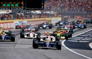 1992 San Marino Grand Prix Start by F1-history