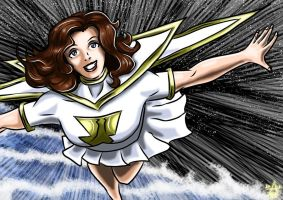 Mary Marvel : Waves by adamantis