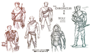 LC - [Wolf] concept sketches by Sorcaron