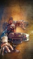 Bioshock Infinite iPhone Wallpaper - 2 by footthumb