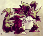 Chousen Nidoking by raizy