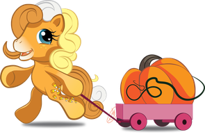 Pumpkin Pony Contest Prize. by KashimusPrime