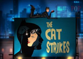 The Cat Strikes by DESPOP