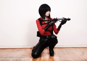 Ada Wong Resident Evil 6 Cosplay by MasterCyclonis1