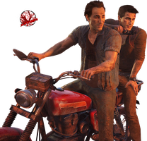 Nathan and Sam Drake || Uncharted by JA-Renders