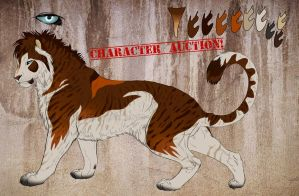 Red Cat - Character Auction by NadiavanderDonk