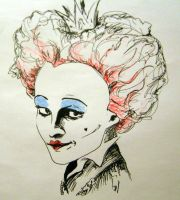 Red Queen smiling by ArtLucie