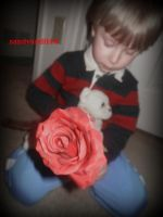 Project 365, Day 186: My Little Valentine by sandyandi146
