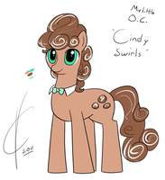 OC: Cindy Swirls by Dreatos