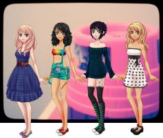 I edit the dolls by AmourSucreFans