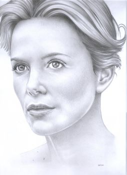 Charlize Theron by costage