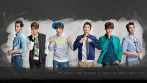 2PM wallpaper by SCHIZOPHRENIC-ALICE