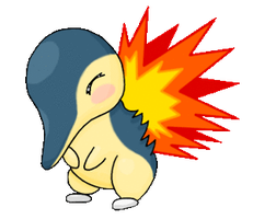 Animated Cyndaquil by TheNymphia