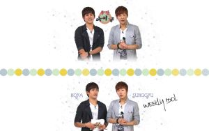 Hoya-sunggyu-weekly-idol by KpopGurl