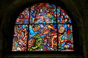 Stained Glass Art At Eastern State Pen- by PAlisauskas