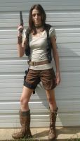 Firefly femJayne Cobb Costume Front by RebelATS