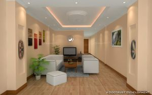 Living Room Interior by zubagvatic