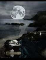 :: Sleeping Moon :: by christel-b