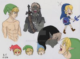 Link croquis by Ecna-Tsonc