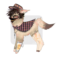 canine auction ADOPTABLE CLOSED by iLumiAdoptables
