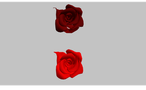 MMD Rose add ons .X FILE by amiamy111