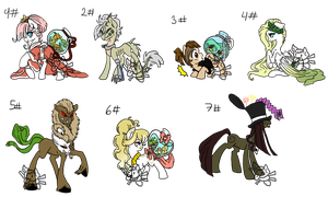 Pony collab adopts by Sarahostervig