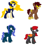 Nightpony Adopts .:CLOSED:. by TheRealRiiver