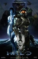 Halo Fan Art Triptych: Halo Version by rs2studios