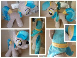 Crystal Pony Plush by Jillah92