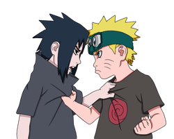 Naruto and Sasuke 538 by Naruto-lover16