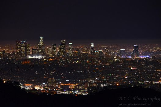 Light Pollution by pacmangeek
