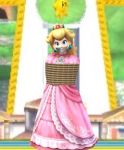 Princess Peach Rope Bound Tape Gagged by Goldy0123