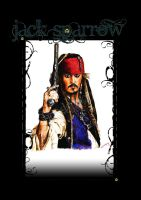 Jack Sparrow by Saxon-wolf23