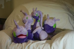 Slime Dragon Family Photo by Diffeomorphism