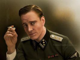 Inglorious Basterds: Lieutenant Hicox by ThreshTheSky