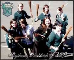 Slytherin Quidditch Team 07. by ripyourfaceoff