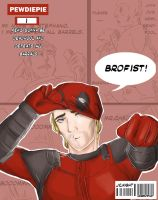 PEWDIEPIE and DEADPOOL !! by nightto