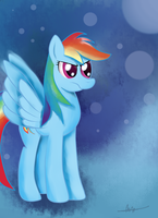 Rainbow Dash by almaustral