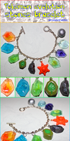 Evolution stones bracelet~ by SuperSiriusXIII