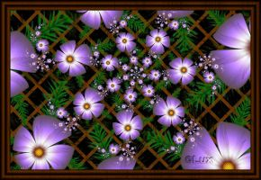 Flower Trellis by LaxmiJayaraj
