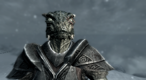 Zenax the Argonian - Skyrim by Tryzon