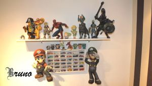 Updated Papercraft Models Shelf by BrunoPigh