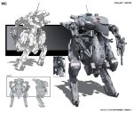 Multi-purpose mech Class 2 by KaranaK
