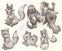 Marker drawings 4 + requests by Yakalentos