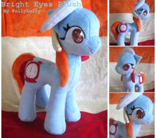 MLP Plushie contest- Bright Eyes by FollyLolly