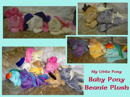 Baby Pony Beanie Plush by methuselah-alchemist
