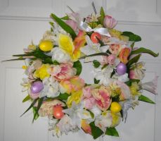 Easter Wreath - FOR SALE by Lyrak